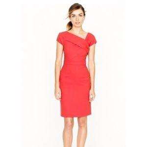NEW J Crew Sheath 100% Wool Midi Sheath Dress 8